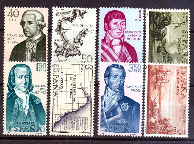 España 1819/1826 ** Forjadores. 1967 - 1931-Hoy: 2ª República - ... Juan Carlos I