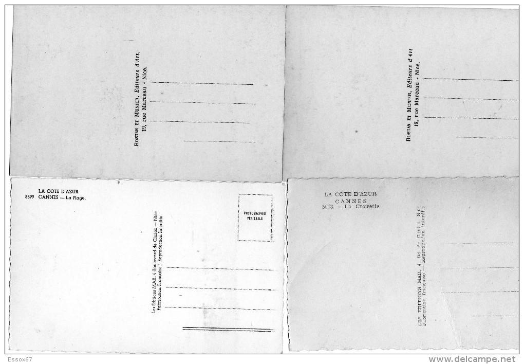 8x Alte Postkarten / Cannes - 5 - 99 Karten