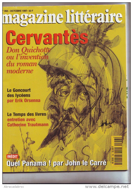 Le Magazine Litteraire 358 - Octobre 1997 - Cervantes - Don Quichotte - Livres, BD, Revues