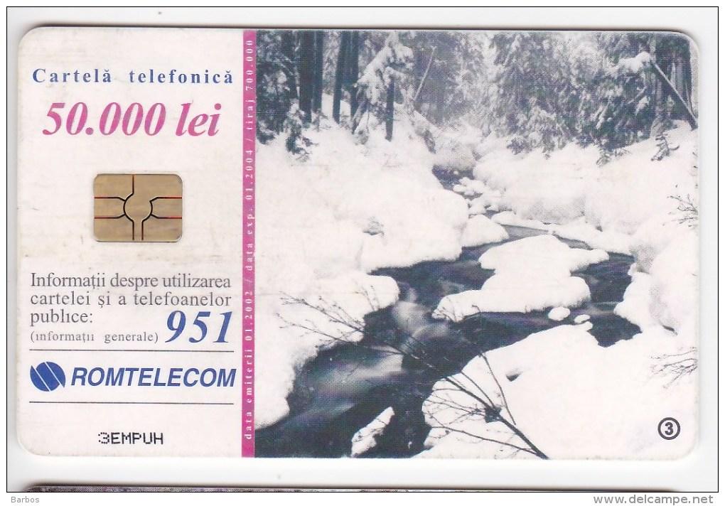 Romania   , Phonecards   , 2002 ,   Used - Romania