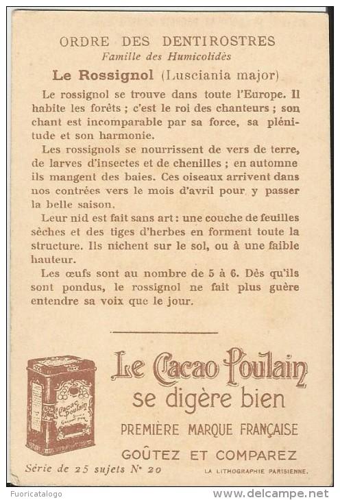 FIGURINA PUBBLICITARIA LE CACAO POULAIN - N° 20 - Cioccolato