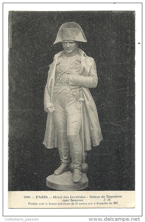 Cp, Sculptures, Statue De Napoléon - Par Seurre - Sculptures