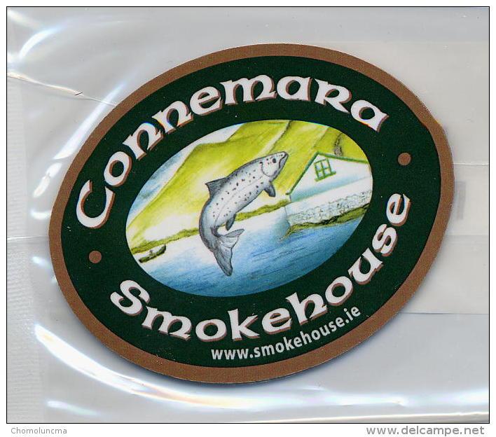 Pêche Fishing Fishery Saumon Lachse Salmon Connemara Smokehouse Fridge Magnet Neuf Sous Blister - Animaux & Faune