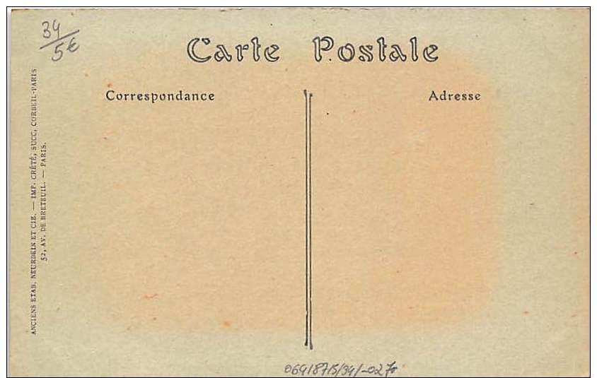 MONTPELLIER .   VUE DU CAMPEMENT DU POLYGONE . - Montpellier