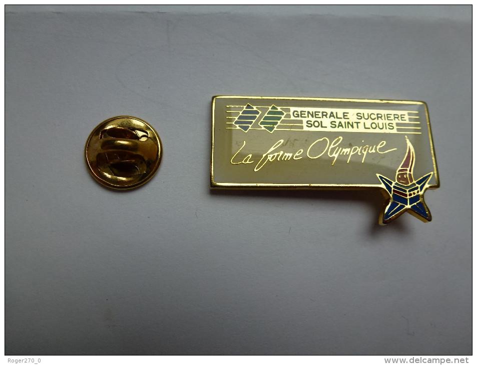 JO Jeux Olympiques Albertville 92 , Sucre , Générale Sucriére Sol Saint Louis - Jeux Olympiques