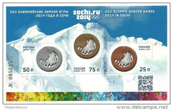 2014 - Russia - Olimpiadi Invernali Di Sochi, - Inverno 2014: Sotchi