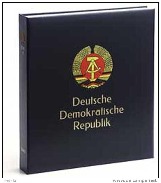 DAVO 3141 Luxe Binder Stamp Album DDR I - Groß, Grund Schwarz