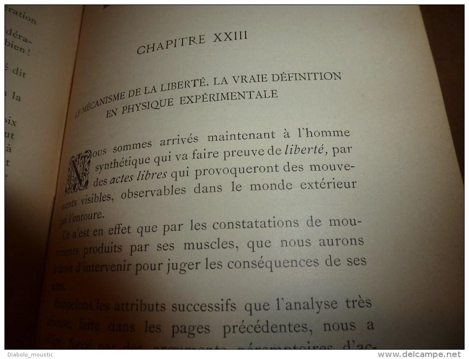 1897 (rare,avec Dédicace Manuscrite Raoul Pictet Au Professeur Cornu) ETUDE CRITIQUE Du MATERIALISME Et Du SPIRITUALISME - Livres Dédicacés