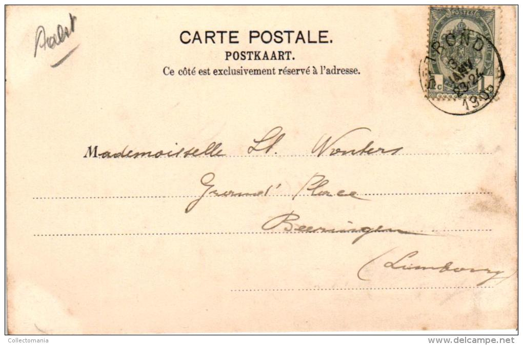 7 CP Kastelen Châteaux Oost Vl  Nieuwerkerken   Moortzele  Leeuwergem   Oosterzele   Laerne     Basel - Belgique