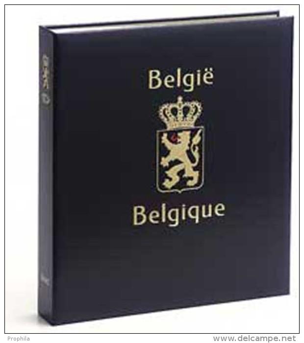 DAVO 1941 Luxe Binder Stamp Album Belgium I - Groß, Grund Schwarz