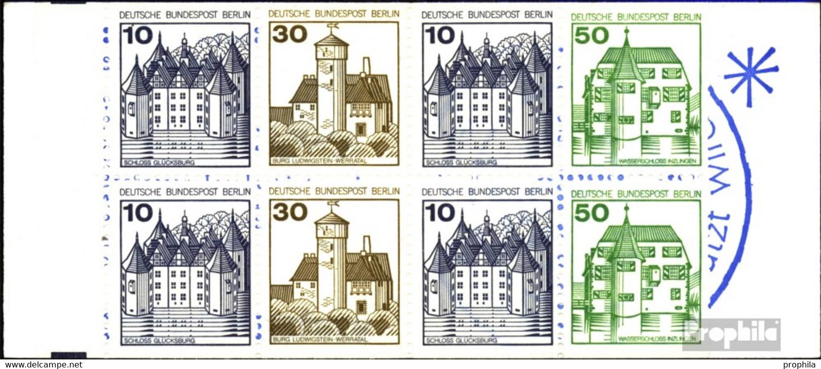 Berlin (West) MH11b (kompl.Ausg.) Postfrisch 1980 Burgen Und Schlösser - Berlin (West)
