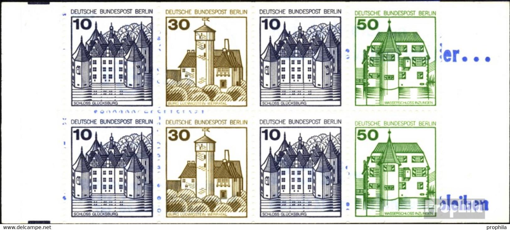 Berlin (West) MH11g (kompl.Ausg.) Postfrisch 1980 Burgen Und Schlösser - Berlin (West)
