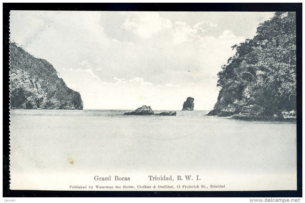 Cpa Antilles Trinidad B.W.I. Grand Bocas    JA15 27 - Trinidad