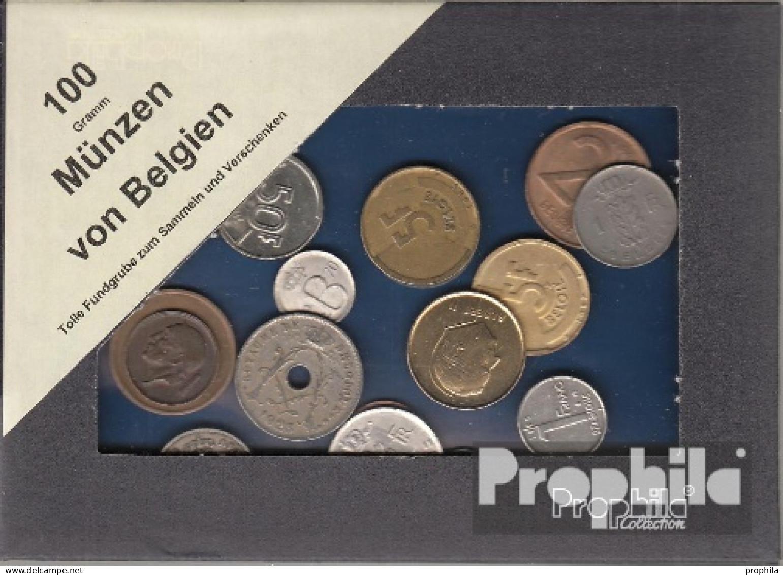 Belgien 100 Gramm Münzkiloware - Coins & Banknotes