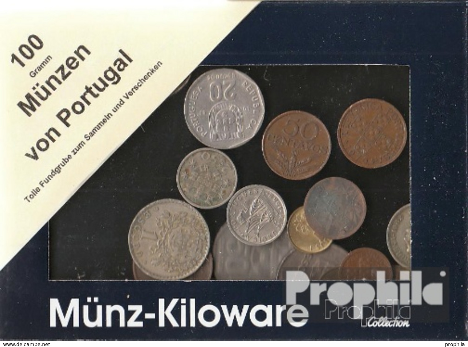 Portugal 100 Gramm Münzkiloware - Coins & Banknotes