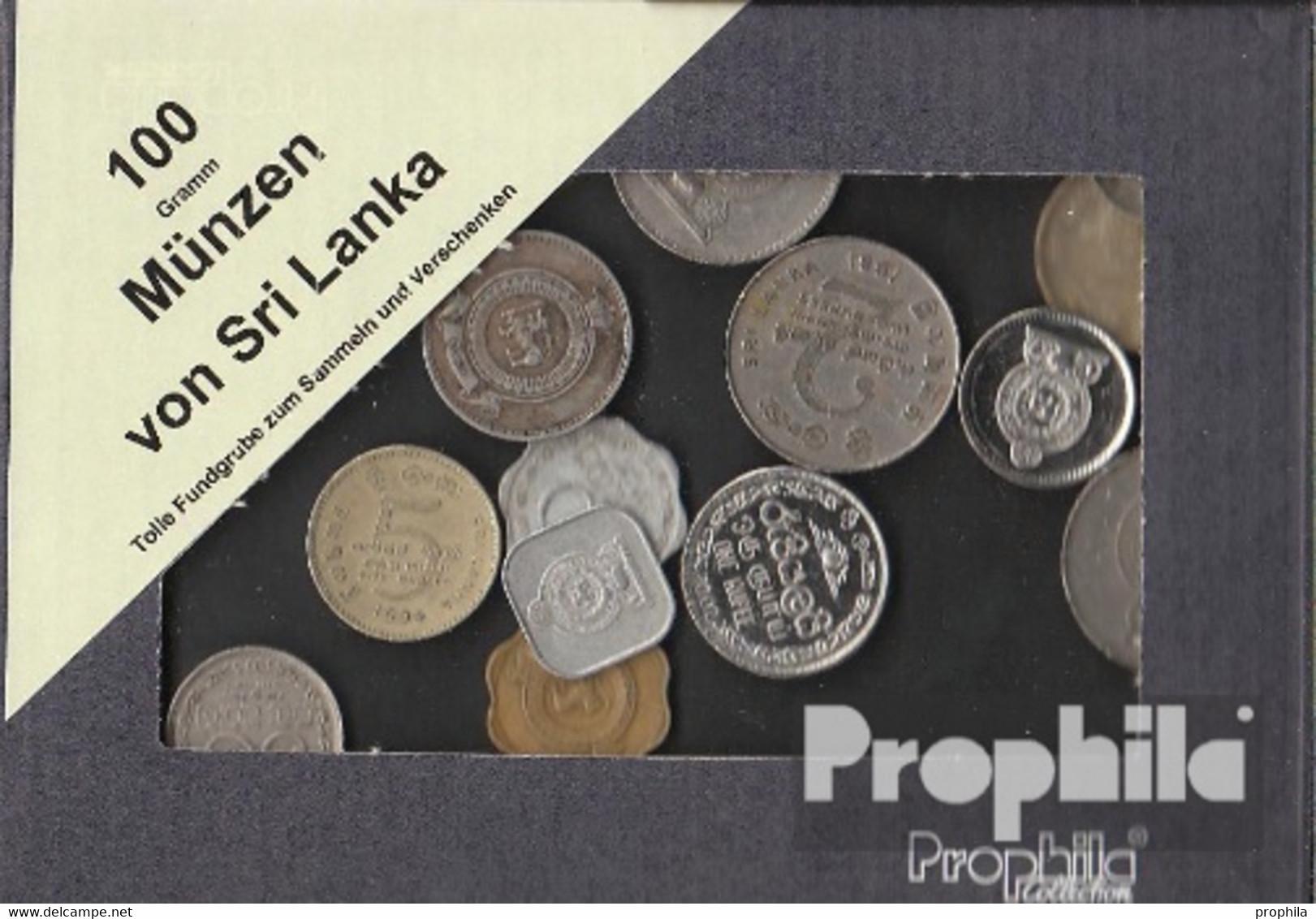 Sri Lanka 100 Gramm Münzkiloware - Coins & Banknotes
