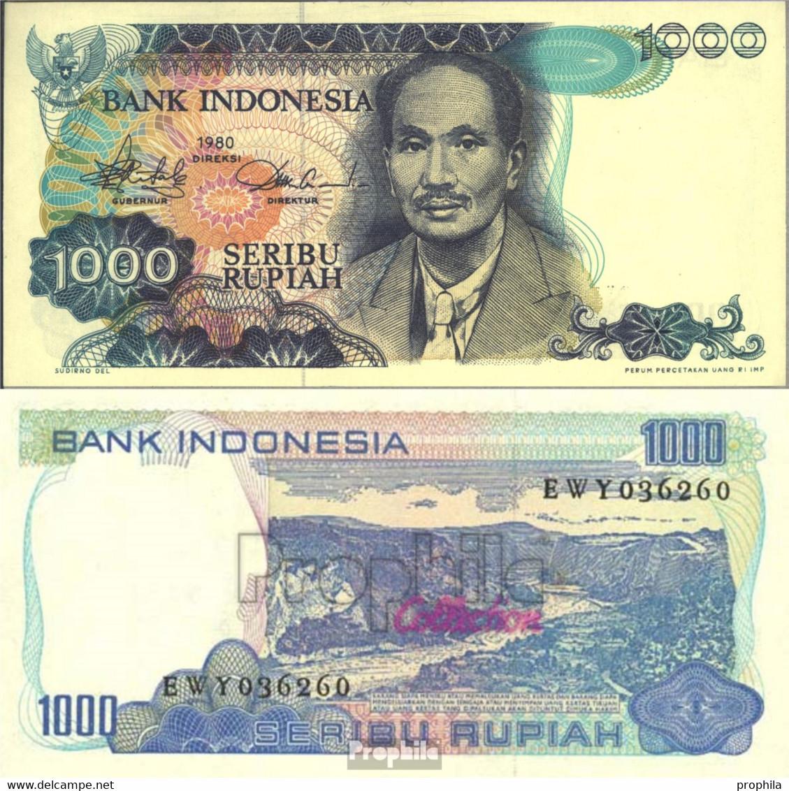 Indonesien Pick-Nr: 119 Bankfrisch 1980 1.000 Rupiah - Indonesien