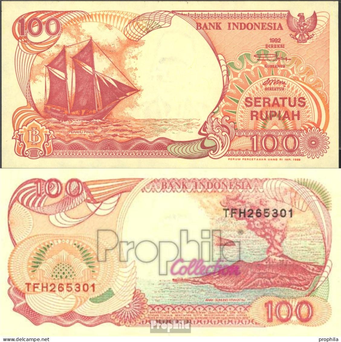 Indonesien Pick-Nr: 127g Bankfrisch 1999 100 Rupiah Segelschiff - Indonesien