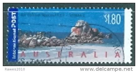 Australien 1,80 $ Gest. Mt. William National Park Tasmanien Meer Felsen Vogel - Used Stamps