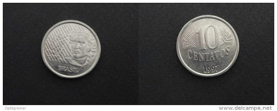1997 - 10 CENTAVOS BRESIL BRAZIL - Brasilien