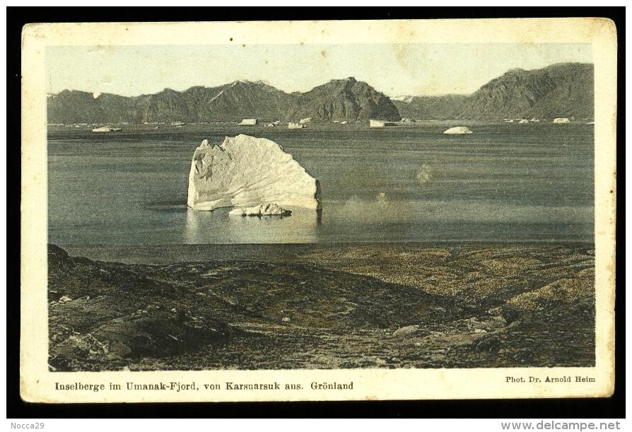 GROENLANDIA - - GRONLAND - GREENLAND - INIZI 900 - UMANAK  (1) - Groenlandia