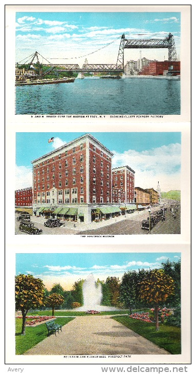 Souvenir Folder Of Troy, New York - NY - New York