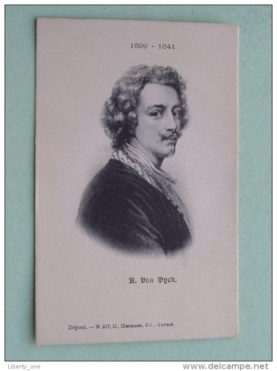 A Van DYCK ( DIJCK ) ( 1599-1641 ) Anno 19?? ( Zie Foto Voor Details ) !! - Entertainers