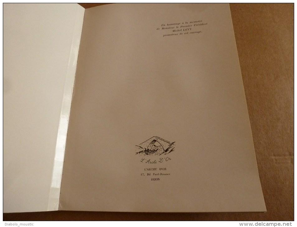 """1983 Dédicace Manuscrite De Albert Colombet à Mme T. Pour Son Livre  """"LE PALAIS DE JUSTICE DE DIJON ANCIEN PARLEMENT """" - Livres, BD, Revues"""