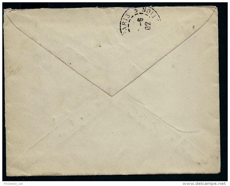 ESPAGNE- LETTRE  POUR PARIS  TRES JOLIE CACHET EN BLEU  D UN CONGRES EN 1902 A VOIR - Cartas