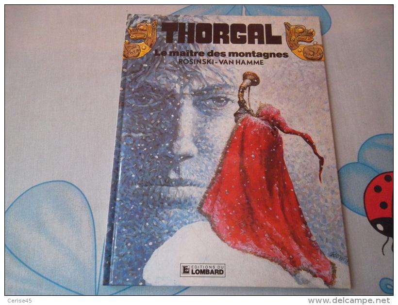 THORGAL LE MAITRE DES MONTAGNE - Thorgal