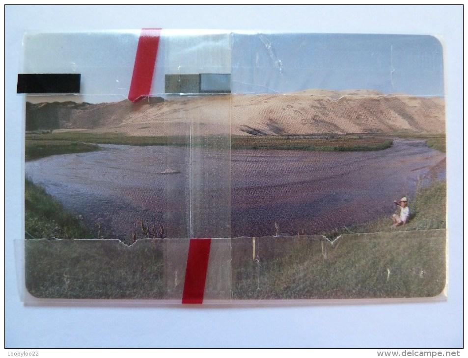 MONGOLIA - Mint Blister - Chip - Child By Lake - 150 Units - MON-7 - Mongolia