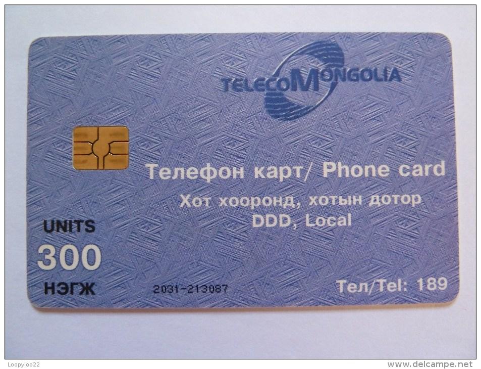 MONGOLIA - Chip - 300 Units - MON-8 - Mongolia