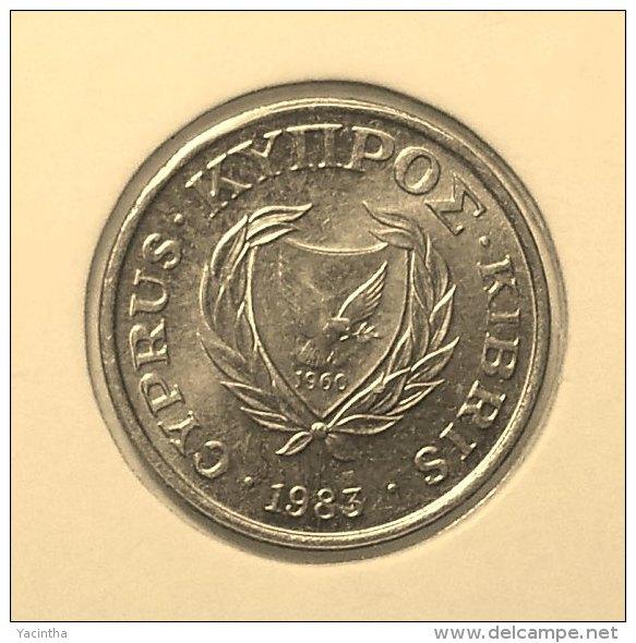 @Y@    Cyprus   25  Mills    1963    Unc  (2848) - Chypre