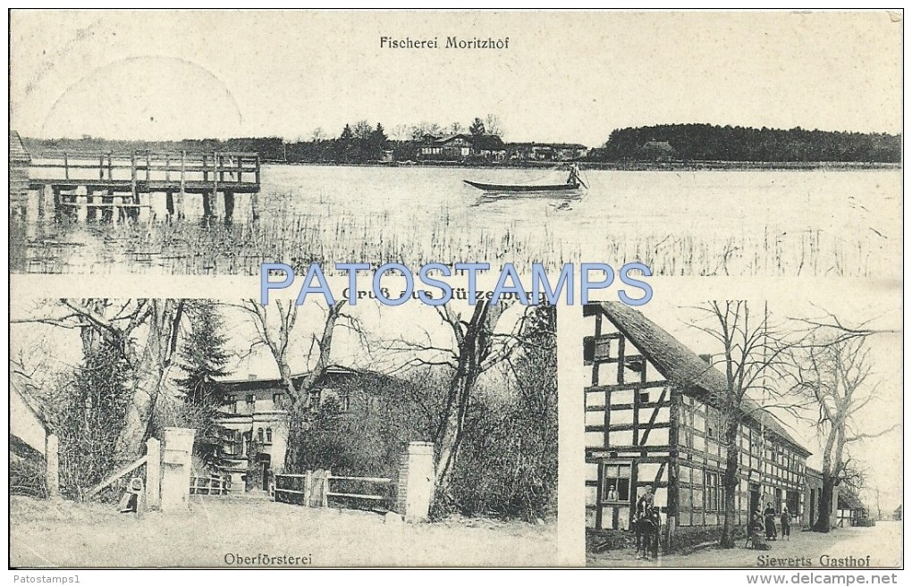 2506 GERMANY MÜTZELBURG MULTI VIEW YEAR 1920 POSTAL POSTCARD - Deutschland