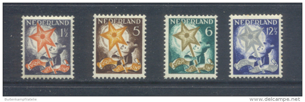 Nvph 261-264 - Unused Stamps