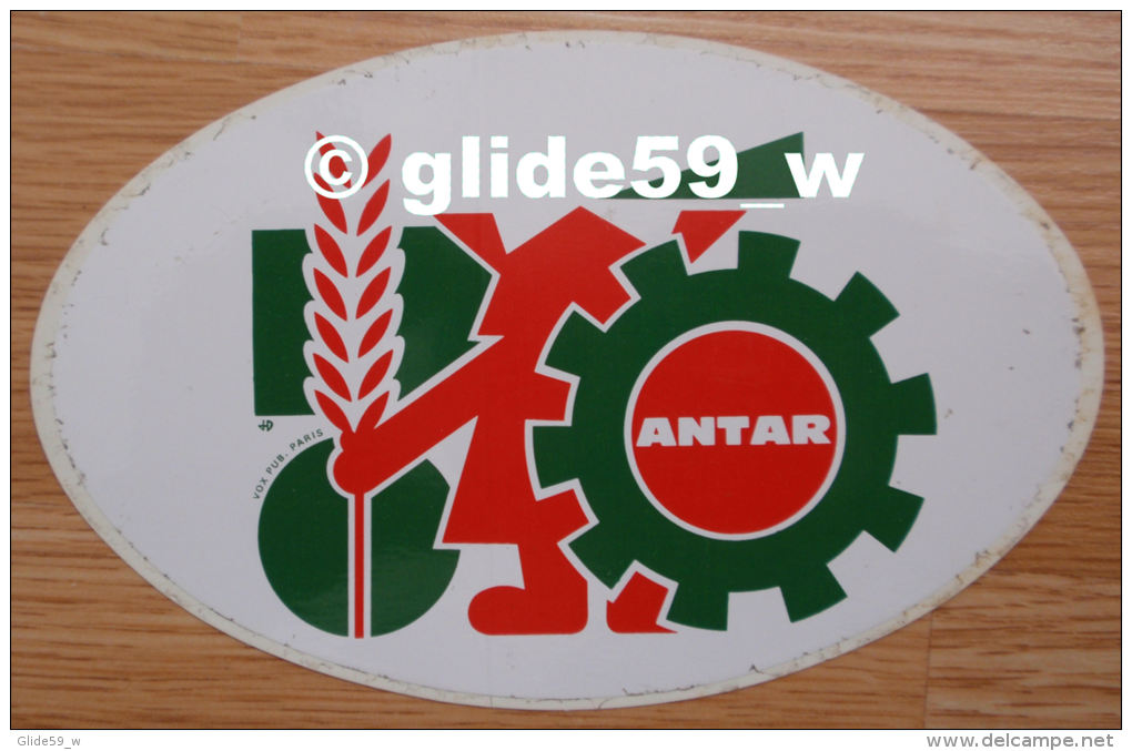 Autocollant - ANTAR (agriculture) - Stickers