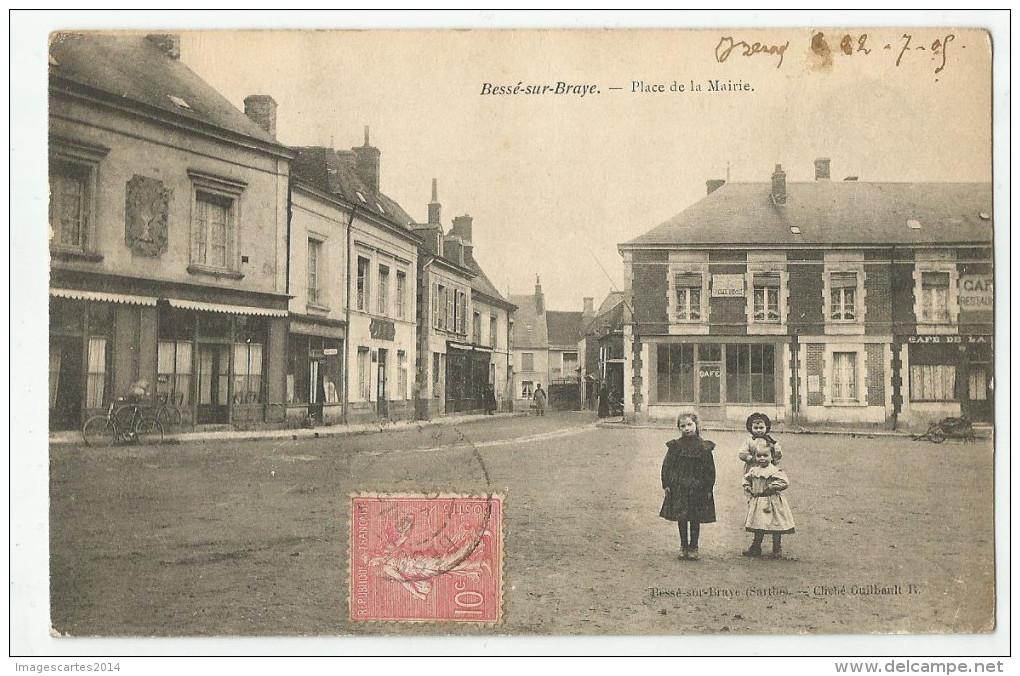 CPA  SARTHE - 72 - Bessé Sur Braye - Autres Communes