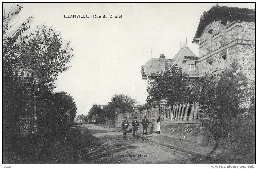 Ezanville (Val D'Oise) - Rue Du Chalet - Edition L. Laroche - Ezanville