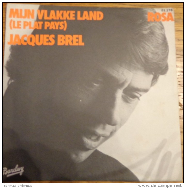 Jacques Brel Mijn Vlakke Land
