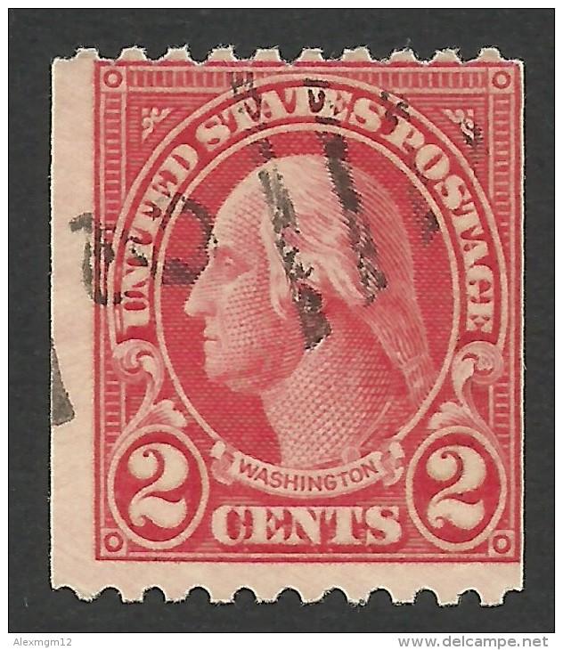 United States, 2 C. 1923, Sc # 606, Mi # 263H, Used - United States