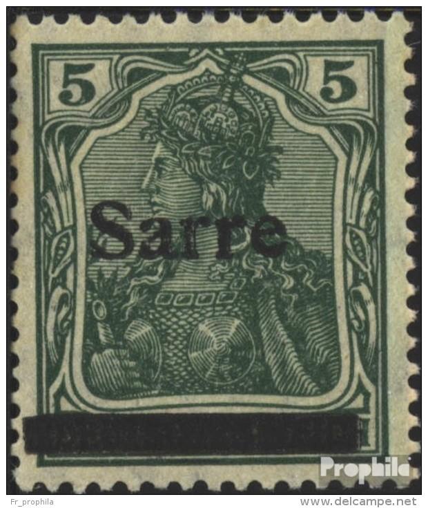 Sarre 4a III Neuf Avec Gomme Originale 1920 Allemagne - 1920-35 Saargebiet – Abstimmungsgebiet