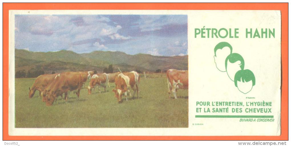 Buvard  Pétrole Hahn  - Troupeau De Vaches - Parfums & Beauté