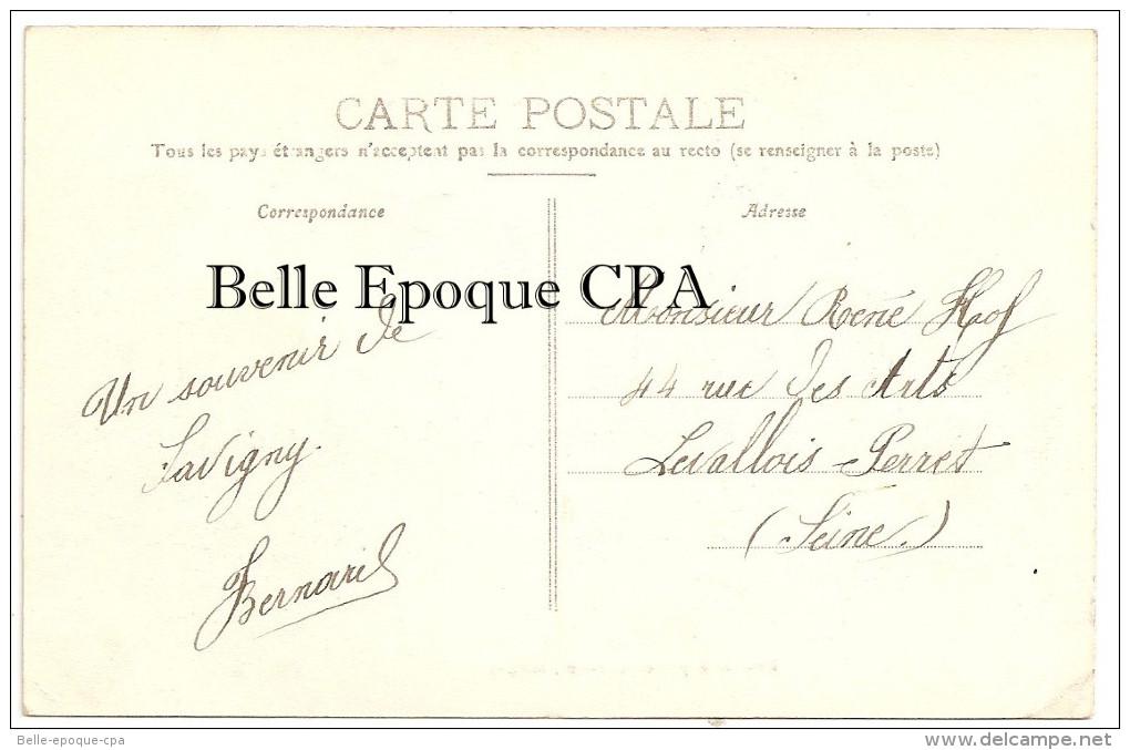 41 - SAVIGNY-sur-BRAYE - Rue Des Pépinières ++++ A. Briant, Savigny ++++ Vers Levallois-Perret, 1909 +++ RARE - France