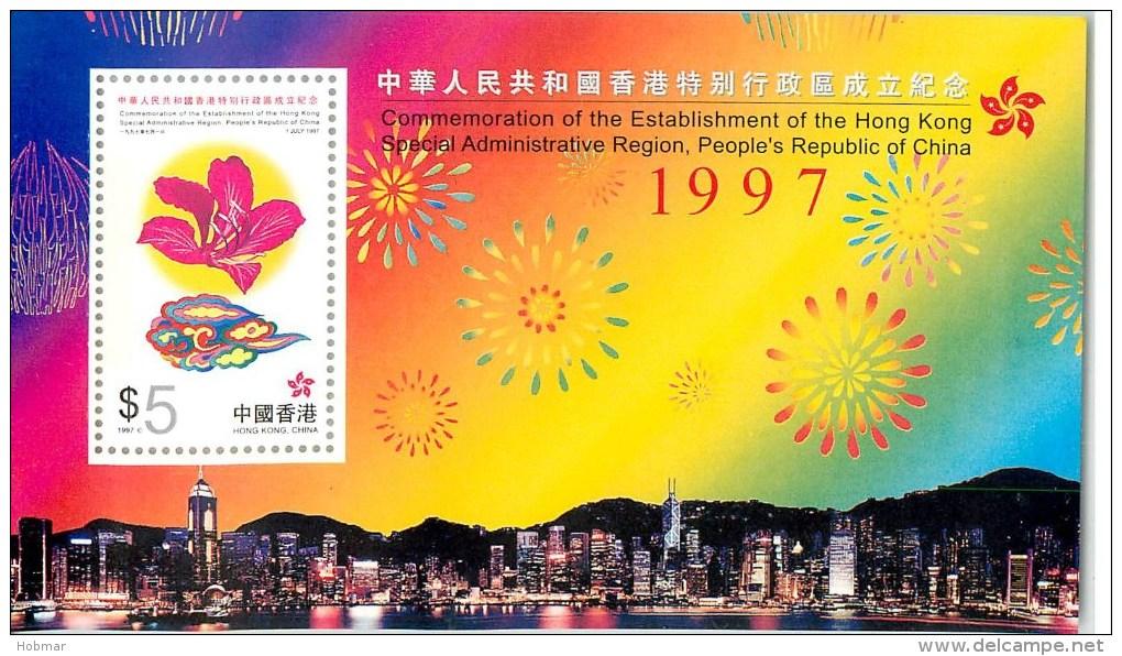 Hong Kong - $5 Hong Kong Returned To China Sheet - 1997 - SG906 - MNH - 1997-... Sonderverwaltungszone Der China