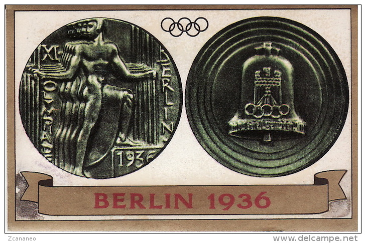 FIGURINA OLIMPIADE BERLINO 1936 - OLYMPIA PANINI N° 114 - - Apparel, Souvenirs & Other