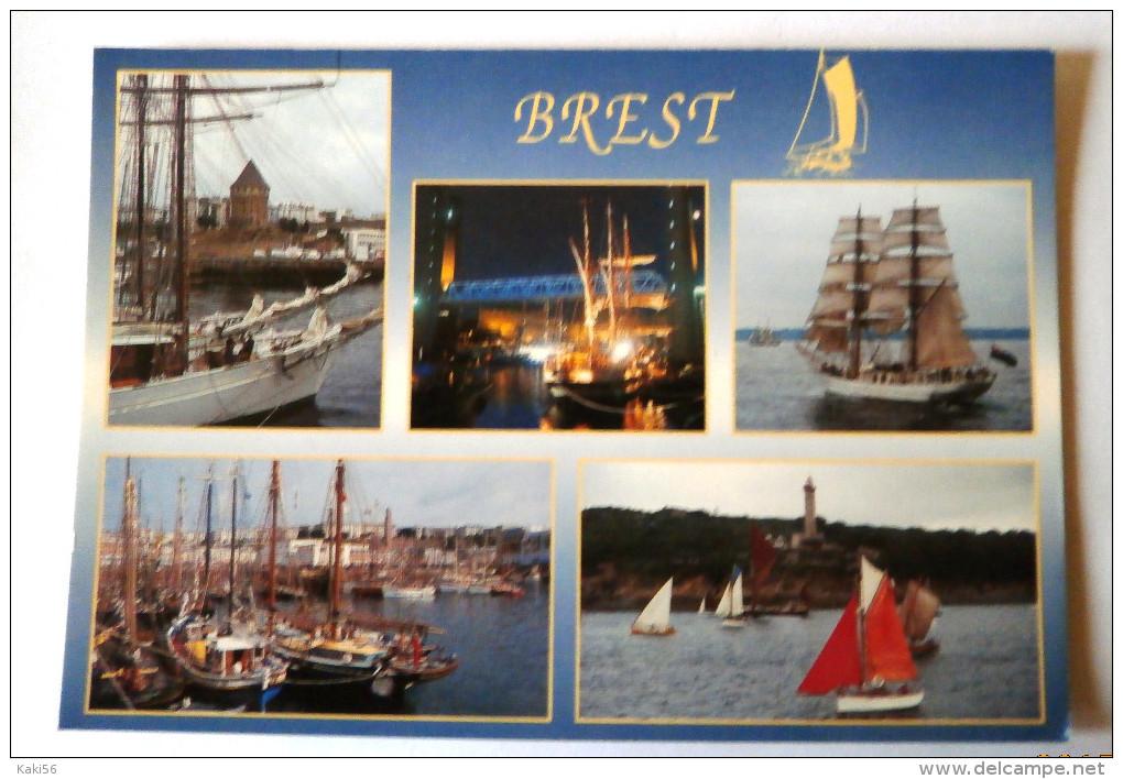 BREST RASSEMBLEMENT DE VIEUX GREEMENTS FETE DU PATRIMOINE MARITIME JUILLET 1992 - Brest