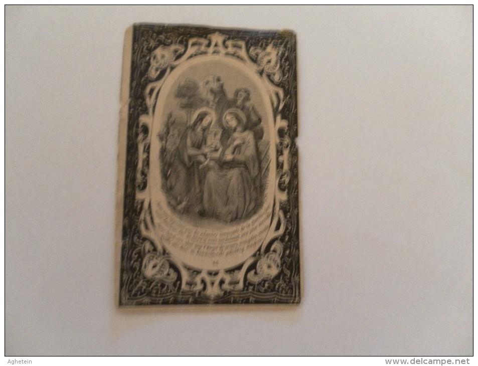 Doodsprentje:ROSALIE VANNESTE °ROLLEGHEM-CAPELLE 1807+ALDAAR16-11-1893-2 FOTOS - Religion & Esotérisme