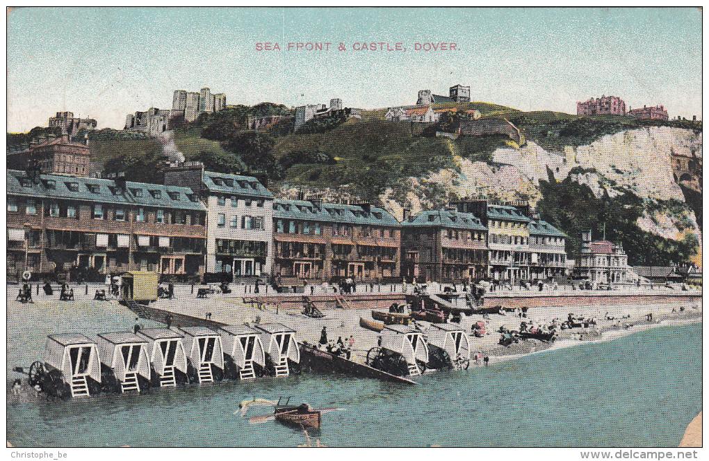 Dover, Sea Front & Castle (pk16163) - Dover