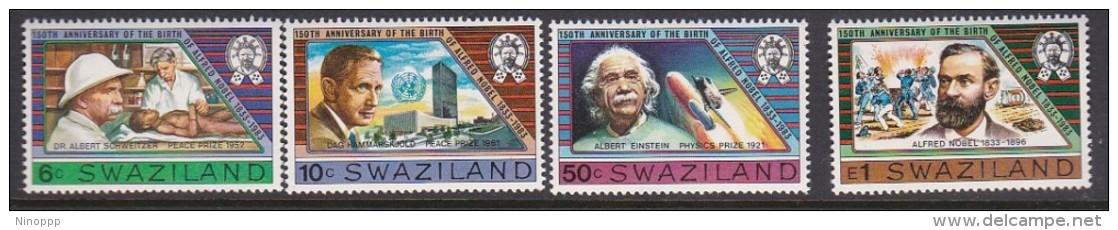 Swaziland 1983 Alfred Nobel 100th Anniversary Birth MNH - Swaziland (1968-...)