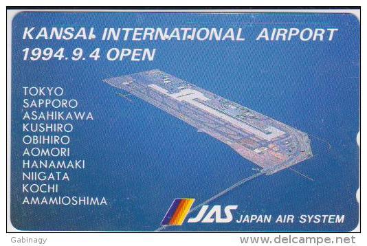 AIRPLANE - JAPAN-066 - JAS - AIRLINE - 110-011 - Airplanes